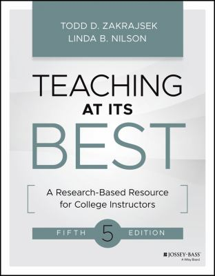 Book cover for Teaching at its best : a research-based resource for college instructors / Linda B. Nilson