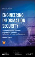 Engineering information security [electronic resource] : the application of systems engineering concepts to achieve information assurance