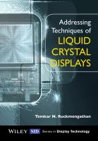 Addressing techniques of liquid crystal displays [electronic resource]