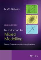 Introduction to mixed modelling [electronic resource] : beyond regression and analysis of variance