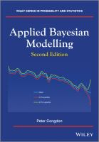 Applied Bayesian modelling [electronic resource]