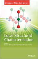 Local structural characterisation [electronic resource]