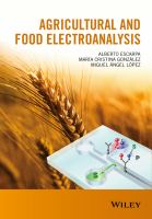 Agricultural and food electroanalysis [electronic resource]