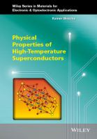 Physical properties of high-temperature superconductors [electronic resource]