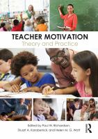 Teacher motivation : theory and practice