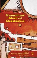 Transnational Africa and globalization [electronic resource]