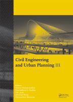 Civil engineering and urban planning III [electronic resource]