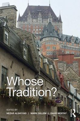 Whose tradition? : discourses on the built environment