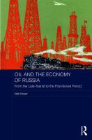 Oil and the economy of Russia : from the late-Tsarist to the post-Soviet period /