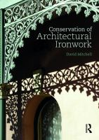 Conservation of architectural ironwork
