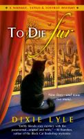 To Die Fur
