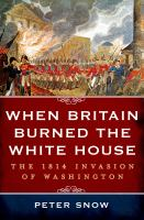 book cover image When Britain Burned the White House