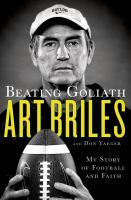Cover of the book Beating Goliath : my story of football and faith