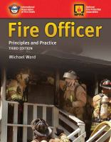 Fire officer : principles and practice