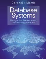 Database systems : design, implementation, and management.