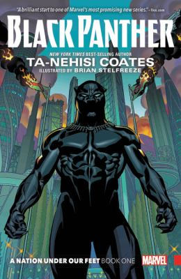 Black Panther book jacket