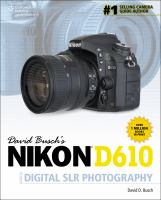 David Busch's Nikon D610 guide to digital SLR photography [electronic resource]
