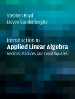 Introduction to applied linear algebra : vectors, matrices, and least squares /