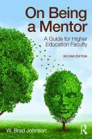 On being a mentor : a guide for higher education faculty