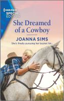 Title: She dreamed of a cowboy. Author:Sims, Joanna