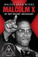 Title: Malcolm X : by any means necessary Author:Myers, Walter Dean