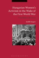 Hungarian women's activism in the wake of the First World War : from rights to revanche /