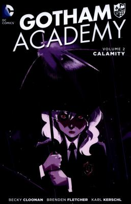 Gotham Academy book jacket