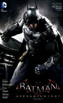 Batman Arkham Knight book jacket