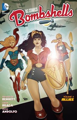 DC Comics Bombshells book jacket