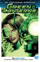 Green Lanterns: Vol. 1, Rage Planet