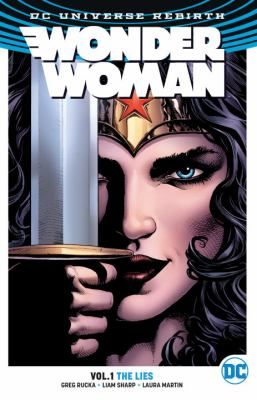 Wonder Woman book jacket