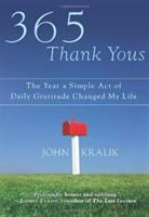 Book cover for 365 Thank Yous by John Kralik