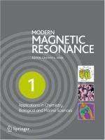 Modern magnetic resonance [electronic resource]