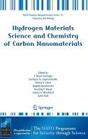 Hydrogen materials science and chemistry of carbon nanomaterials [electronic resource]