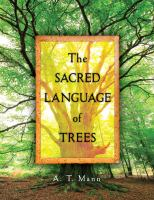 book cover image: the sacred language of trees