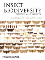 Insect biodiversity : science and society