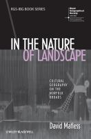 In the nature of landscape [electronic resource] : cultural geography on the Norfolk Broads