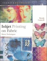 Inkjet printing on fabric : direct techniques