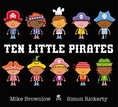 """Book Cover - Ten Little Pirates"""" title=""""View this item in the library catalogue"""