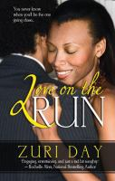 Love on the run [text (large print)]: a Morgan Man novel