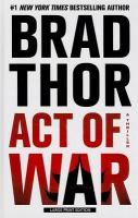 Act of War [text (large print)] : a thriller