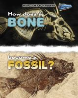 How Does A Bone Become A Fossil?
