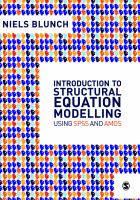 Introduction to structural equation modelling using SPSS and AMOS [electronic resource]