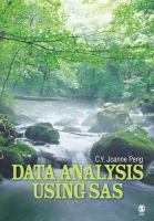 Data analysis using SAS [electronic resource]