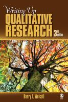 Writing up qualitative research [electronic resource]