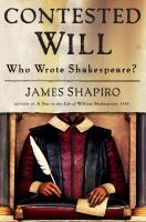 Cover of the book Contested Will : who wrote Shakespeare?