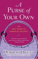 A purse of your own : an easy guide to financial security