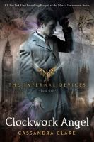 book jacket for Clockwork Angel