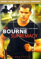 The Bourne supremacy cover image
