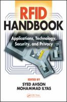 RFID handbook [electronic resource] : applications, technology, security, and privacy